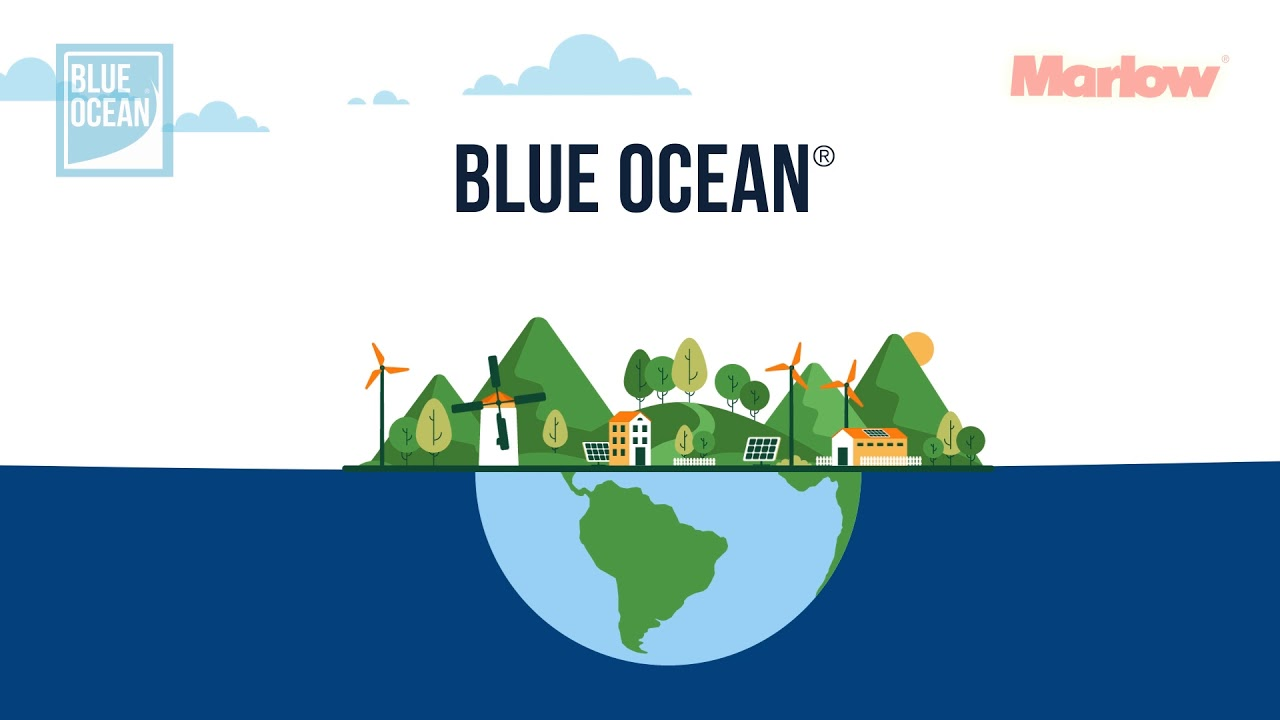 WHAT IS BLUE OCEAN® ? How Marlow Ropes are leading the way in sustainable manufacturing