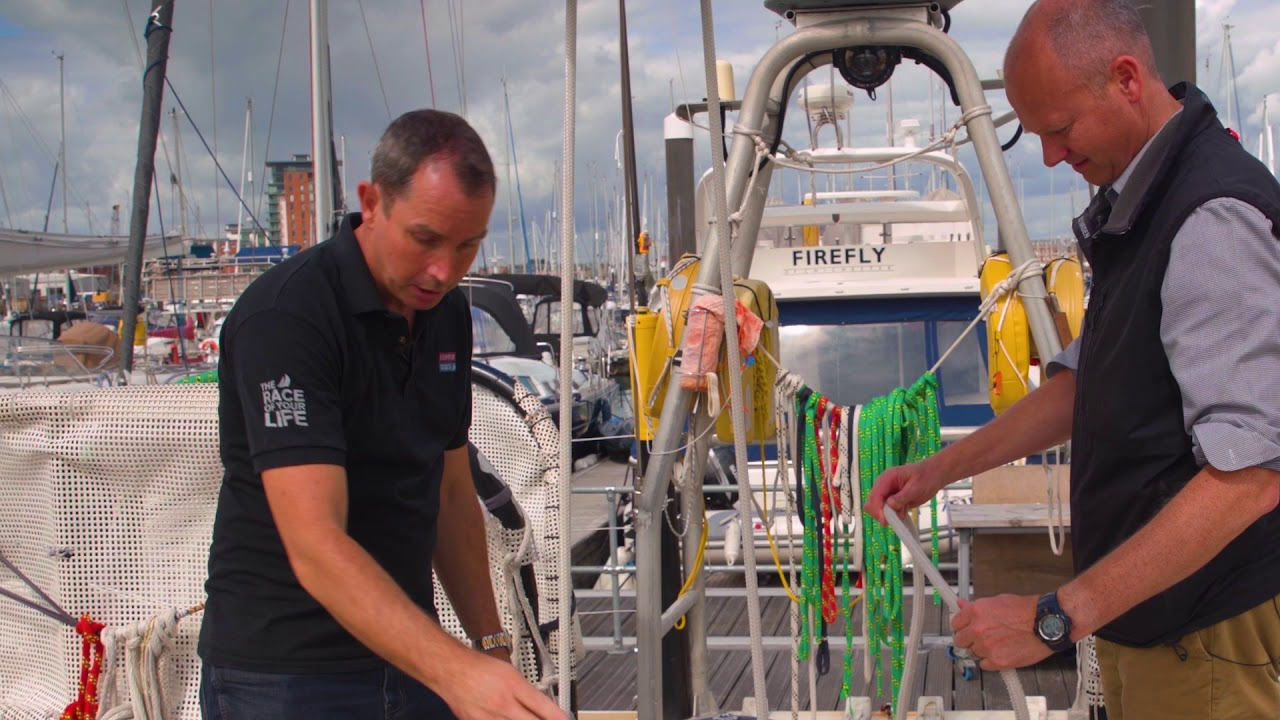 HOW DID MARLOW'S ROPE PERFORM ON THE CLIPPER ROUND THE WORLD YACHT RACE?